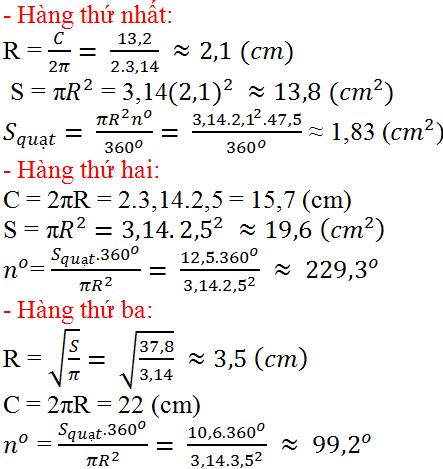 Giải bài 82 trang 99 SGK Toán 9 Tập 2   Giải toán lớp 9