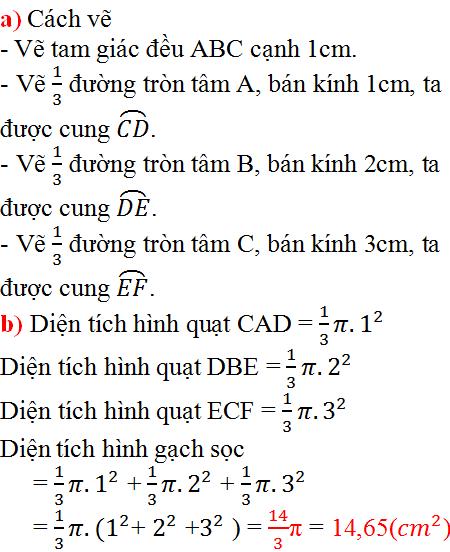 Giải bài 84 trang 99 SGK Toán 9 Tập 2   Giải toán lớp 9