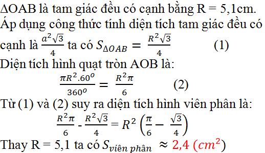 Giải bài 85 trang 100 SGK Toán 9 Tập 2   Giải toán lớp 9