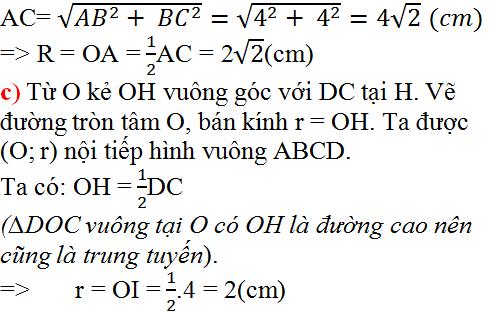 Giải bài 90 trang 104 SGK Toán 9 Tập 2 | Giải toán lớp 9