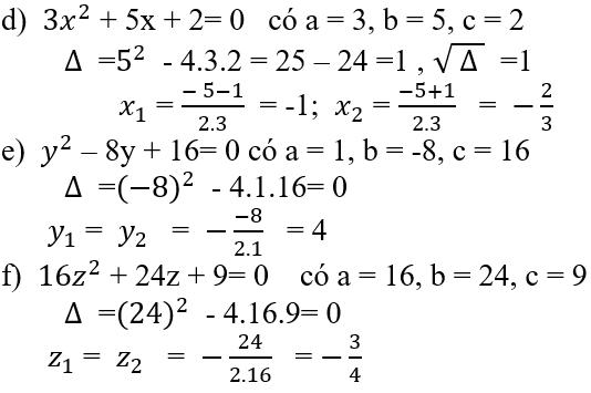 Giải bài 16 trang 45 SGK Toán 9 Tập 2   Giải toán lớp 9