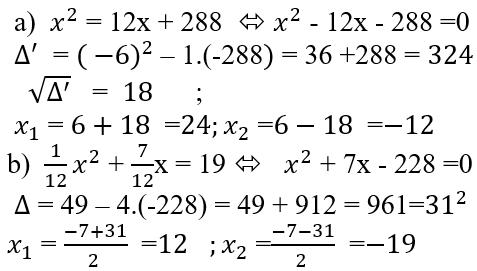 Giải bài 21 trang 49 SGK Toán 9 Tập 2 | Giải toán lớp 9