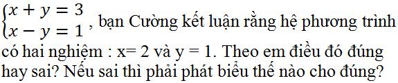 Giải bài 3 trang 25 SGK Toán 9 Tập 2   Giải toán lớp 9