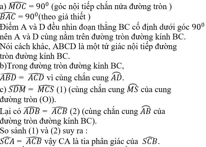 Giải bài 97 trang 105 SGK Toán 9 Tập 2 | Giải toán lớp 9