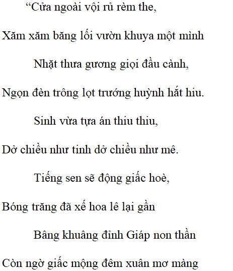 Thề nguyền - Nội dung Thề nguyền