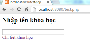 Autocomplete Search trong PHP