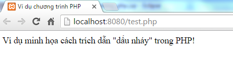 here document trong PHP