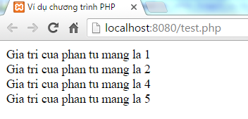 Lệnh continue trong PHP