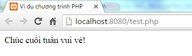 Lệnh if else trong PHP