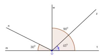 Trắc nghiệm: Khi nào thì xOy + yOz = xOz - Bài tập Toán lớp 6 chọn lọc có đáp án, lời giải chi tiết