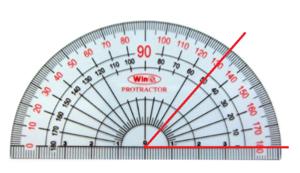 Trắc nghiệm: Số đo góc - Bài tập Toán lớp 6 chọn lọc có đáp án, lời giải chi tiết