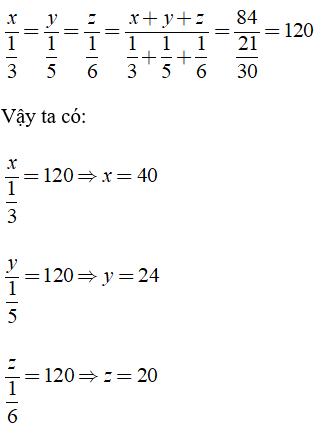 Trắc nghiệm: Đại lượng tỉ lệ nghịch - Bài tập Toán lớp 7 chọn lọc có đáp án, lời giải chi tiết