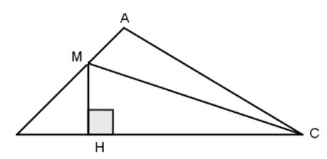 Trắc nghiệm: Định lí Pi-ta-go - Bài tập Toán lớp 7 chọn lọc có đáp án, lời giải chi tiết