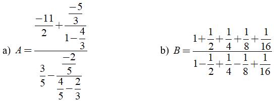 Trắc nghiệm: Nhân, chia số hữu tỉ - Bài tập Toán lớp 7 chọn lọc có đáp án, lời giải chi tiết