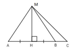 Trắc nghiệm Quan hệ giữa đường vuông góc và đường xiên, đường xiên và hình chiếu - Bài tập Toán lớp 7 chọn lọc có đáp án, lời giải chi tiết