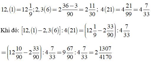 Trắc nghiệm: Số thập phân hữu hạn. Số thập phân vô hạn tuần hoàn - Bài tập Toán lớp 7 chọn lọc có đáp án, lời giải chi tiết