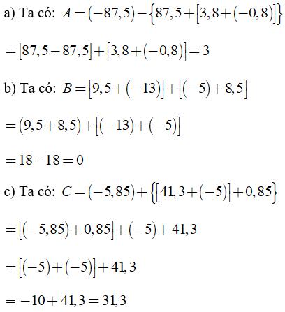 Trắc nghiệm: Số thực - Bài tập Toán lớp 7 chọn lọc có đáp án, lời giải chi tiết
