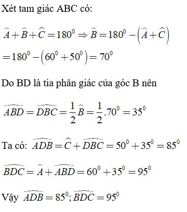 Trắc nghiệm: Tổng ba góc của một tam giác - Bài tập Toán lớp 7 chọn lọc có đáp án, lời giải chi tiết