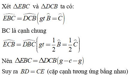 Trắc nghiệm: Trường hợp bằng nhau thứ ba của tam giác: góc - cạnh - góc - Bài tập Toán lớp 7 chọn lọc có đáp án, lời giải chi tiết