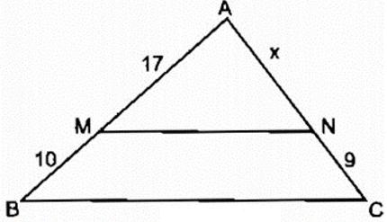 Lý thuyết: Định lí Ta-lét trong tam giác | Lý thuyết và Bài tập Toán 8 có đáp án