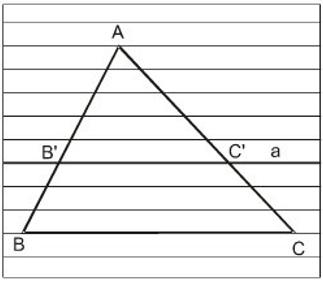 Lý thuyết: Định lí đảo và hệ quả của định lí Ta-lét | Lý thuyết và Bài tập Toán 8 có đáp án