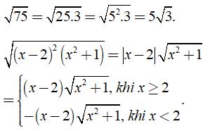 Lý thuyết: Biến đổi đơn giản biểu thức chứa căn thức bậc hai - Lý thuyết Toán lớp 9 đầy đủ nhất