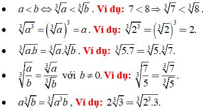 Lý thuyết: Căn bậc ba - Lý thuyết Toán lớp 9 đầy đủ nhất