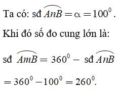Lý thuyết: Góc ở tâm. Số đo cung - Lý thuyết Toán lớp 9 đầy đủ nhất