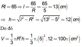Lý thuyết: Hình nón - Hình nón cụt - Diện tích xung quanh và thể tích của hình nón, hình nón cụt - Lý thuyết Toán lớp 9 đầy đủ nhất