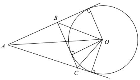 Lý thuyết: Tính chất của hai tiếp tuyến cắt nhau - Lý thuyết Toán lớp 9 đầy đủ nhất