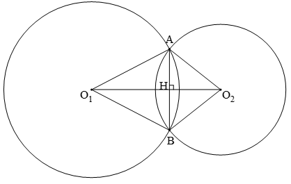 Lý thuyết: Vị trí tương đối của hai đường tròn - Lý thuyết Toán lớp 9 đầy đủ nhất